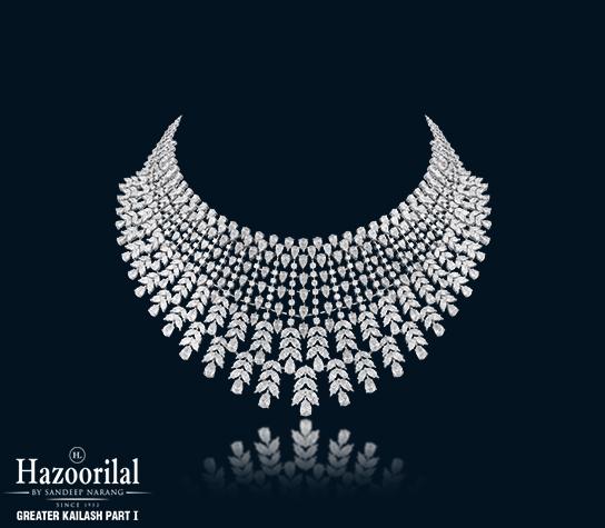 Hazoorilal Diamond Jewellery Sets